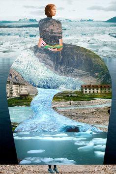 Photography Collage, Levitation Photography, Water Photography, Photography Projects, Abstract Photography, Digital Photography, Exposure Photography, Edward Hopper, Collage Design