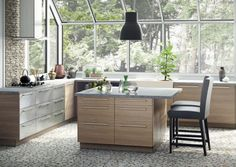 IKEA SEKTION New Kitchen Cabinet Guide: Photos, Prices, Sizes and More!  available in white or stainless steel too.