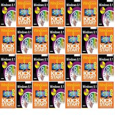 """Wednesday, October 29, 2014: The Oxford Public Library has two new books in the Computers & Internet section.   The new titles this week are """"Windows 8.1 in Easy Steps: Special Edition"""" and """"Windows 8 Kickstart."""""""