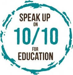 10/10 - A Day of Action. Vote 4 Education. Learn more at http://www.expectmorearizona.org/Vote