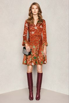 Diane von Furstenberg - Pre-Fall 2015 - Look 1 of 23