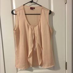 L-Pink Professional Blouse Large, Very Cute and Silky, would look cute on any occasion even possibly under a work blazer  Tops Blouses