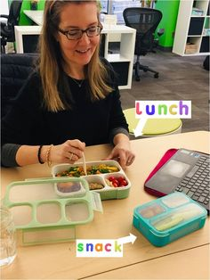 Bento Box - Kinsho Kitchen #bentoboxlunch #eatmunchies#foodiechats #kinsho #kidslunchideas#mindfulkitchen #kidslunchbox Lunch Boxes For Women, Bento Box Lunch For Kids, Easy Lunch Boxes, Healthy Packed Lunches, Cold Lunches, Lunch Snacks, Cold Lunch Ideas For Work, Work Lunch Box, Best Bento Box