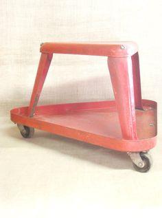retro style tool box tool caddy garden tote tool by smithwick co