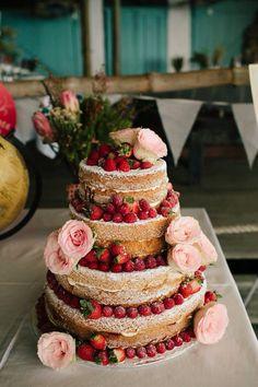 Victoria sponge cake no icing