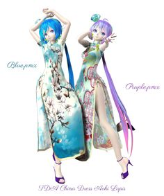 DeviantArt is the world's largest online social community for artists and art enthusiasts, allowing people to connect through the creation and sharing of art. Vocaloid, Aoki Lapis, Mikuo, Anime Outfits, Cheongsam, Otaku, China, Deviantart, 3d