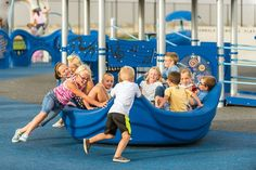 OmniSpin® Spinner - Inclusive Play Equipment $6K