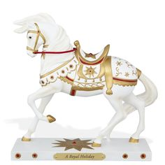 Trail of Painted Ponies A Royal Holiday Figurine 4046334  horse 2015 NIB