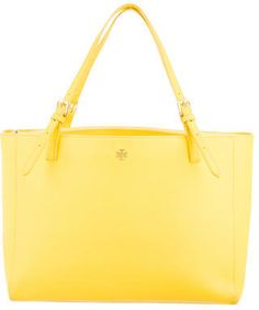 838d8b8b74c9 Tory Burch York Buckle Tote in yellow (aff)