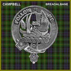 Family Crests Tweedie Scottish Clan Crest Mens Cufflinks with Chrome