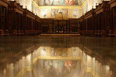 Real Biblioteca del Monasterio de El Escorial - Salón principal Escorial Madrid, Big Ben, Building, Travel, Viajes, Buildings, Trips, Traveling, Tourism