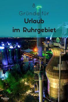 Das Ruhrgebiet im Herzen NRWs wird als Reiseziel meist unterschätzt. Ich gebe dir 8 Gründe, warum sich ein Urlaub im Ruhrpott für dich lohnen wird!