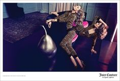 See Juicy Couture's Complete Fall 2013 Campaign with Edita and Andreea | Fashion Gone Rogue: The Latest in Editorials and Campaigns