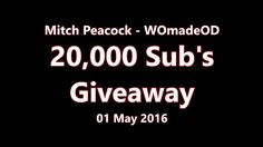 20000 Subsribers Giveaway Peacock, Giveaway, Workshop, Company Logo, Thankful, Friends, Amigos, Atelier, Work Shop Garage