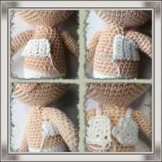 Crochet Dress for Amigurumi Dolls ~ Tutorial