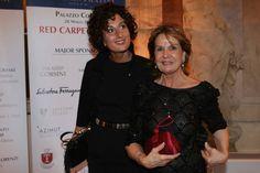 Agnese Landini Renzi con Giovanna Fratini (Marco Mori/ New Press Photo)