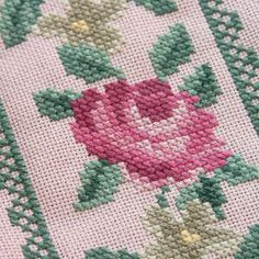 pink handbag with embroidered roses and beads by BelaStitches Cross Stitch Needles, Cross Stitch Rose, Cross Stitch Flowers, Cross Stitch Designs, Cross Stitch Patterns, Roses Only, Diy Clutch, Palestinian Embroidery, Embroidered Roses