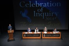 Coastal Carolina University's Celebration of Inquiry keynote address delivered by Joe Moglia, head coach of CCU's football team and former CEO of TD Ameritrade. Plenary speakers included poet Nikki Finney, activist Winona LaDuke, and philosopher Eric Brown. 4.1.2014