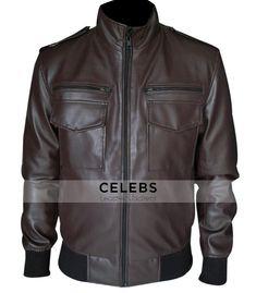 #AndySamberg Brooklyn Nine Nine Leather Jacket