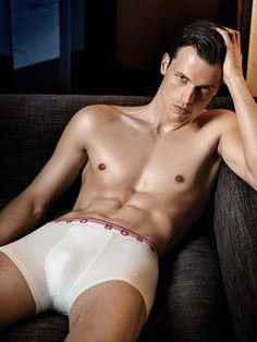 Lars Burmeister by Peter Lindbergh for Hugo Boss Black Underwear Fall Winter 2010-2011