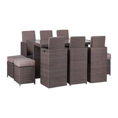 Buy Royalcraft Saint-Tropez 10-Seat Cube Set Online at johnlewis.com
