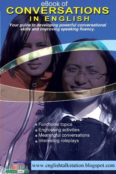 conversations in English A very interesting book to help students communicate.