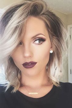 Outstanding 33 Medium Length Hairstyles To Rock This Spring Bobs Thick Hair Short Hairstyles Gunalazisus