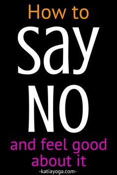 Too busy? Have too many activities, obligations and engagements? It's ok to say no to some of those things! Make some time for self care, self love and self health. Learning To Say No, Daily Meditation, Yoga Teacher Training, Empowering Quotes, Feeling Overwhelmed, Getting To Know You, How To Stay Motivated, Self Love, Are You Happy