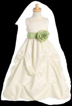 ccf71f1f6a49 12 Best Lara's dress images | Flower girls, Princess flower girl ...