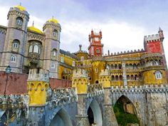 "Day Trip to Sintra, Portugal – Discover the Enchantment | Via Mom Voyage Hilton | 22/04/2015 The culture! The history! The beauty! The excitement that is Lisbon makes Portugal a favorite destination of tourists worldwide. True…BUT a short train ride away from the bustling capital city transports those in-the-know travelers to a magical, fairytale world of storybook adventures — the enchanted city of Sintra! With castles, palaces, moats and transfixing beauty, a visit to Sintra is the ""must…"