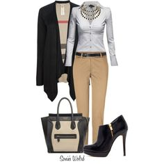 """Work"" by sonies-world on Polyvore"