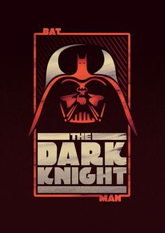 BATMAN-VADER Mash-up by elias calderon, via Behance