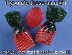 En la cabalgata de Reyes echaban estos caramelos