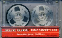 RAR!!! SOUND GUARD  C90  ,  Audiocassette!!