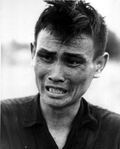 Captured Viet Cong Soldier - I realize they were the vicious enemy who fought dirty & were extremely ruthless but as a human being - that expression on his face is hard to take.  Way too much suffering on both sides....