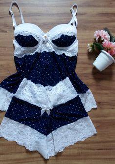 Lengerine for sleeping Pretty Lingerie, Beautiful Lingerie, Sexy Lingerie, Sexy Pajamas, Cute Pajamas, Pyjamas, Sewing Lingerie, Lingerie Outfits, Cute Sleepwear