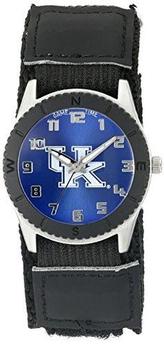 "Game Time Unisex COL-ROB-KEN ""Rookie Black"" Watch - Kentucky"