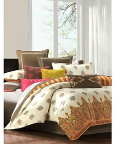 Raja Bedding Collection.  Love the colors.