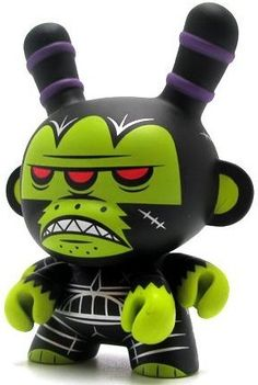 Untitled-kronk-dunny-kidrobot-trampt-80060m...............Mutant Ape of no Hope (black), from the Apocalypse dunny series. Gottem in white too