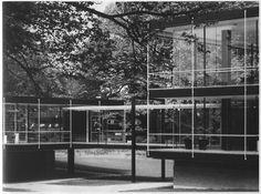 Deutscher Pavillon, Egon Eiermann, 1958