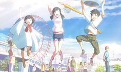 Come check out the list of the top 5 anime movies of all time here!! #Anime  ~Tenki no Ko~ ~Weathering With You~ ~Anime Movies~