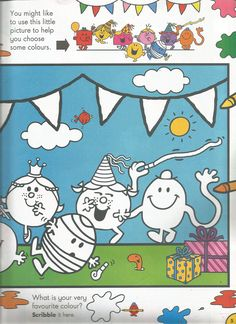 Mr. Men Little Miss Magazine - Beefeater Special Issue - Page 4