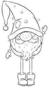 ^ This is perfect for this time of the year! After it is drawn, then the fun of coloring begins. Coloriage de noel à imprimer Christmas Gnome, Christmas Colors, Christmas Art, Christmas Projects, Holiday Crafts, Christmas Decorations, Christmas Ornaments, Christmas Doodles, Christmas Cartoons