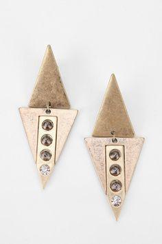 Spiked Arrow Earring