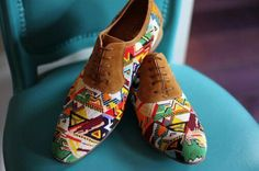 I have a weird obsession with printed shoes... and since i don't wear heels, oxfords are a great go-to choice