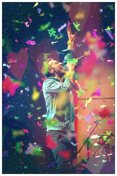 Coldplay. Their concert was amazing, and I love their music! The songs they sing, and how they sing it reflects life perfectly.