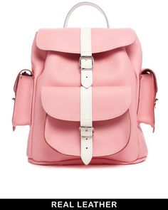 Hari Grafea Candy Crush Backpack in Pink with White on shopstyle.com