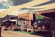 Pop up bar scene in Adelaide