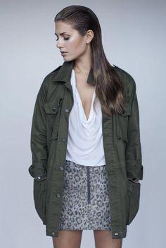Tone Damli for Designers Remix. Love this jacket