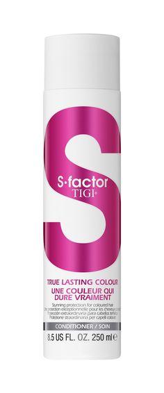 Tigi S-factor True Lasting Colour Conditioner 250ml.